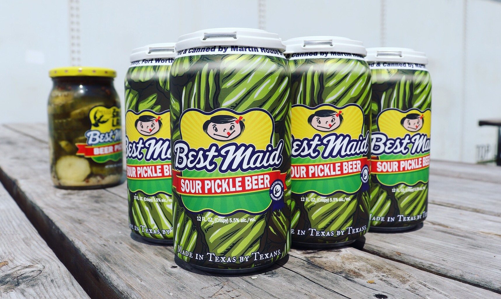 Best Maid Sour Pickle Beer Is the Salty Beer We Need Right Now