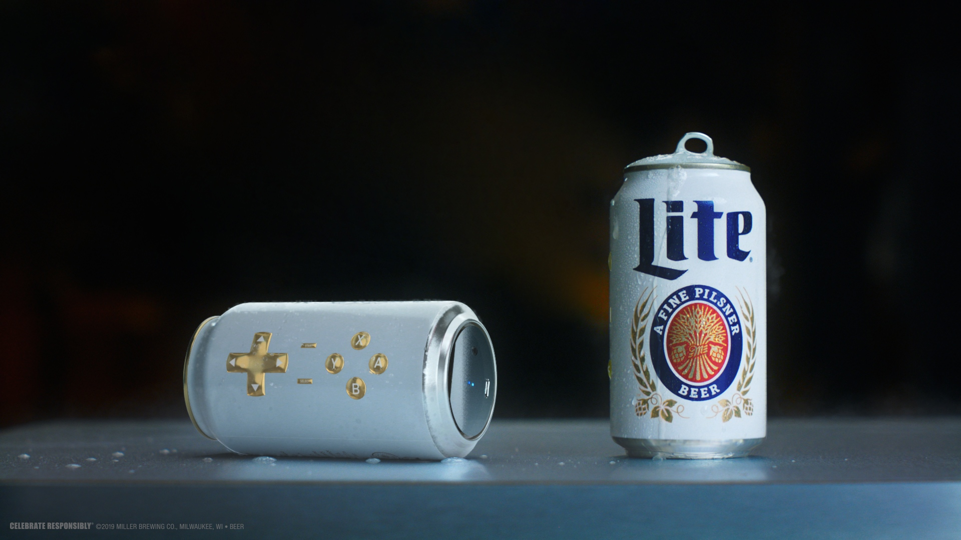 This Beer Can Is a Video Game Controller, and You Can Drink the Beer Inside