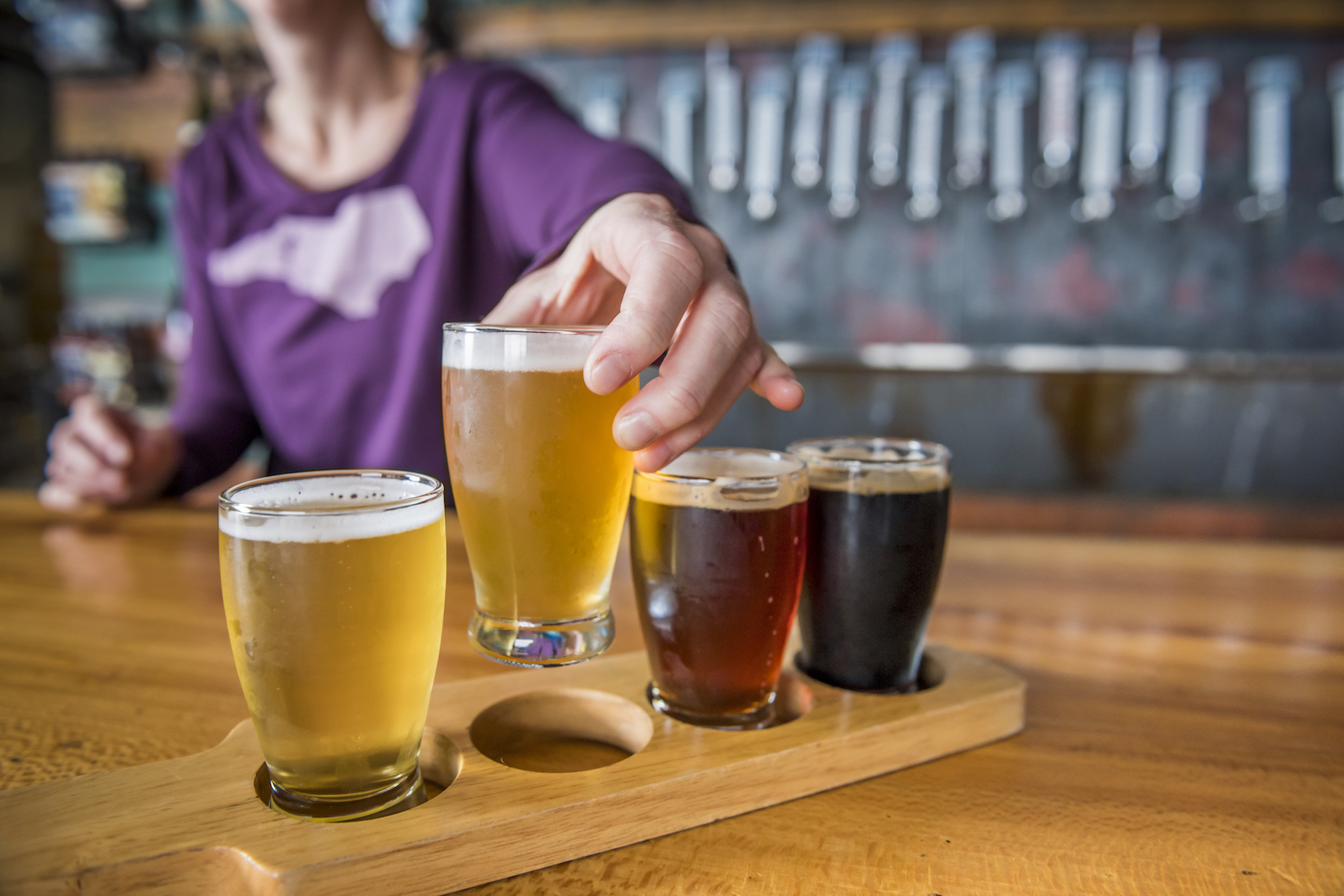 In Asheville, a Brewery is Only as Good as its Food | October