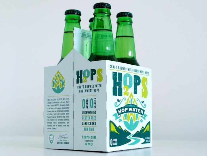 Hop Water, a Non-Alcoholic Favorite of Brewers, Goes