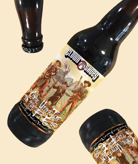 Clown Shoes' Once Upon a Time in the Far East: A Coffee Stout Fit for Dessert