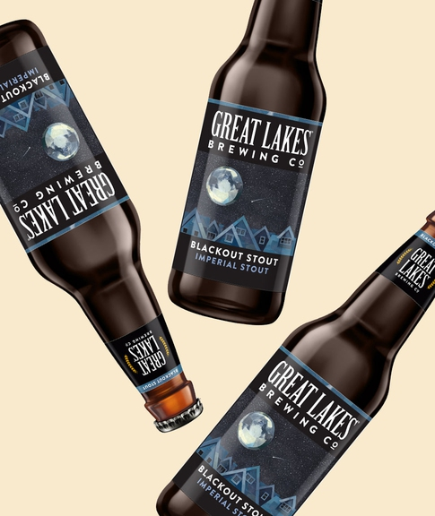 Give Yourself to the Dark Side with Great Lakes Blackout Stout
