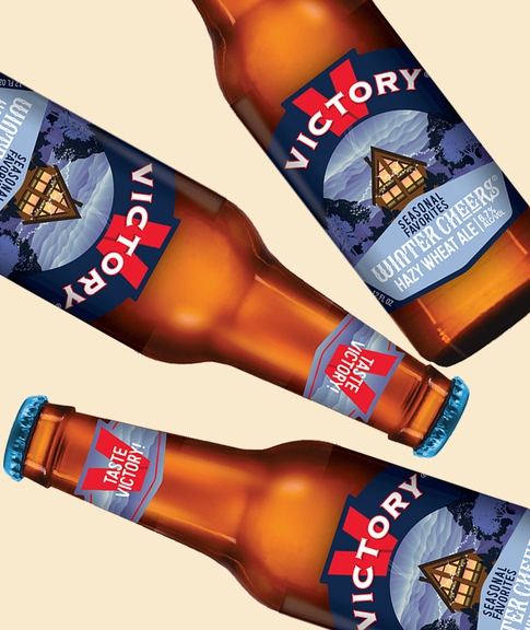 Victory Brewing's Winter Cheers, a Winter Seasonal for Stout-Haters