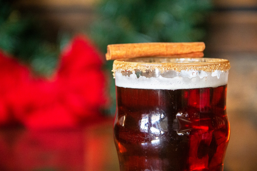 Christmas Beer.Deck Your Great Lakes Christmas Ale With A Cinnamon Sugar