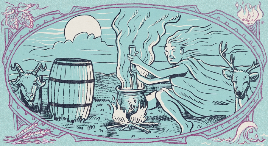 This Pagan Brewery Makes Beer With Witchcraft